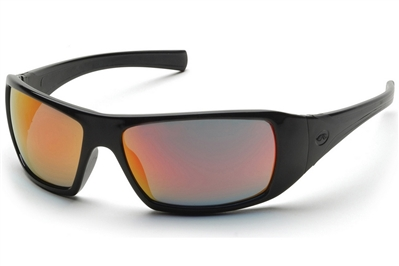 PYRAMEX GOLIATH SAFETY GLASSES - ICE ORANGE MIRROR LENS