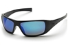 PYRAMEX GOLIATH SAFETY GLASSES - ICE BLUE MIRROR LENS