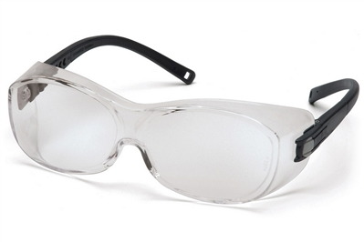 PYRAMEX OTS ANTI-FOG CLEAR SAFETY GLASSES