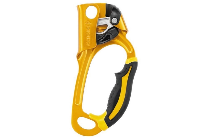 PETZL ASCENSION - HANDLED ROPE CLAMP FOR ROPE ASCENTS