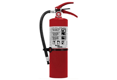 PYRO-CHEM FIRE EXTINGUISHER - 5 LB. ABC