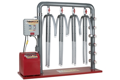 RAM AIR GEAR DRYER - 4 UNIT - HEATED
