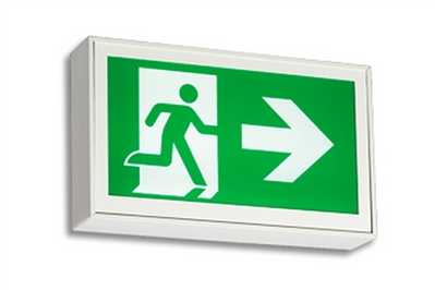 READY-LITE RS SERIES ALL METAL PICTOGRAM EXIT SIGNS
