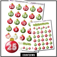 Christmas Ornament Countdowns