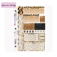 Leopard Photo Hobo Monthly Kit