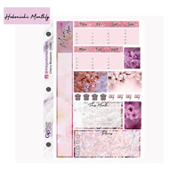 Cherry Blossoms Hobo Monthly Kit