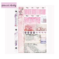 Pink Photo Christmas Hobo Monthly Kit
