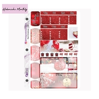 Red Christmas Photo Hobo Monthly Kit