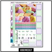 Candy Hearts Hobo Weekly Kit