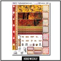 Fall Leaves Photo Hobo Weekly Kit