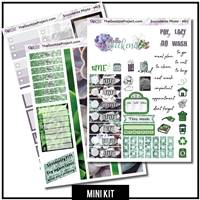 Succulents 3 Page Mini Photo Kit