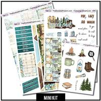 Camping Adventures 3 Page Mini Kit