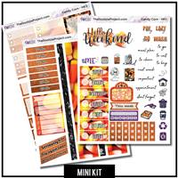 Candy Corn 3 Page Mini Photo Kit