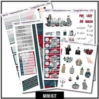 Creepy and Kooky 3 Page Mini Kit