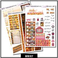 Fall Leaves 3 Page Mini Kit