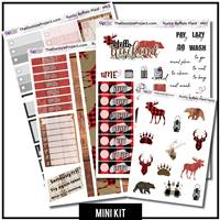 Rustic Buffalo Plaid Mini Kit