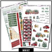 Winter Truck 3 Page Mini Kit