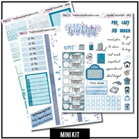Winter Snowfall Photo Mini Kit