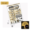 WCP Black and Gold Art Deco Micro Kit