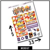 Candy Corn Photo Micro Kit