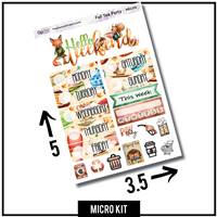 Fall Tea Party Micro Kit