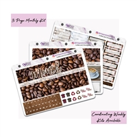 Coffee and Chocolates Photo Monthly