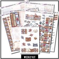 Autumn Fairytales Happy Planner Weekly