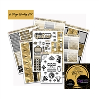 WCP Black and Gold Art Deco Weekly