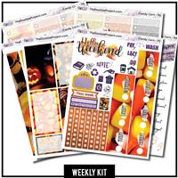 Candy Corn Photo Happy Planner Weekly