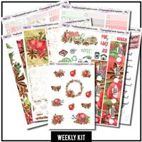 Cinnamon and Apples Happy Planner Weekly