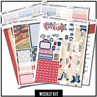 Freedom Ring Happy Planner Weekly