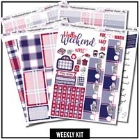 Summer Picnic Happy Planner Weekly