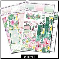 Tropical Days Happy Planner Weekly