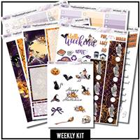 Wicked Witch Happy Planner Weekly