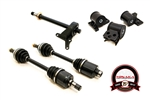 ACURA INTEGRA 1994 TO 2001 GS-R (AXLES) w/ HALFSHAFT & EG MOTOR MOUNTS KIT