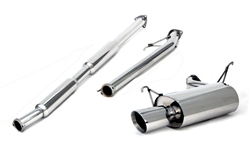 Yonaka 1998-2002 Honda Accord 4DR (4-CYL) Catback Exhaust