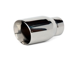 "2.5"" Inlet/3.5"" Outlet Angled Cut Exhaust Tip"