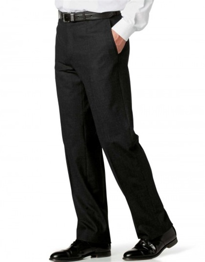 Solid Black Fura Chef Pants