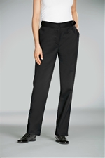 Apui women fitted Chef Pant in solid black