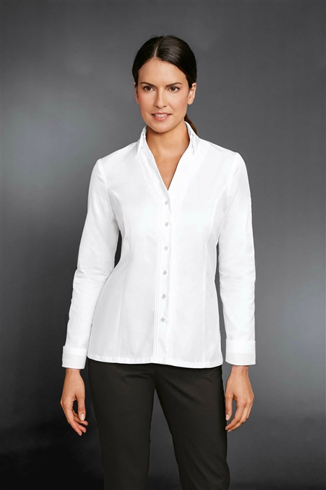 'The Lady PIC'  Chef Jacket in 100% Long Fiber Pima Premium Cotton, the finest cotton in the world!