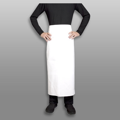 Curry waist apron white 100% cotton