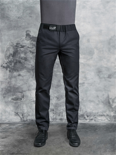 Cyclone men fitted Chef Pant in solid black
