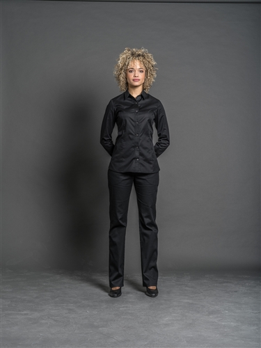 Java WOMEN's fitted shirt black