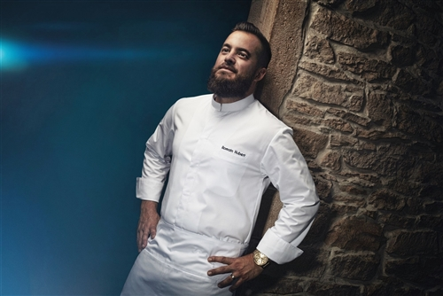 Mantova classic Chef jacket white. Can be customized with C-You concept