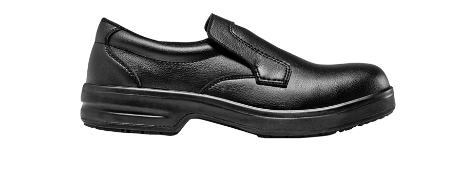 PREMIUM safety Mocassin with steel toe cap
