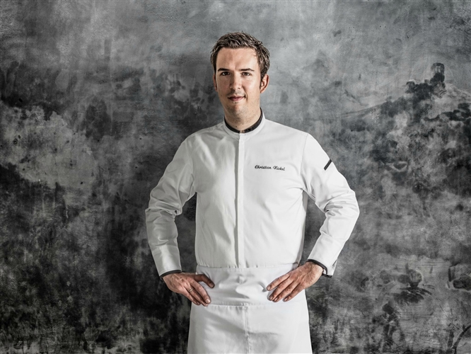Signature Contemporary Chef jacket white
