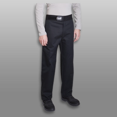 Sirocco men fitted Chef Pant black with I-BELT