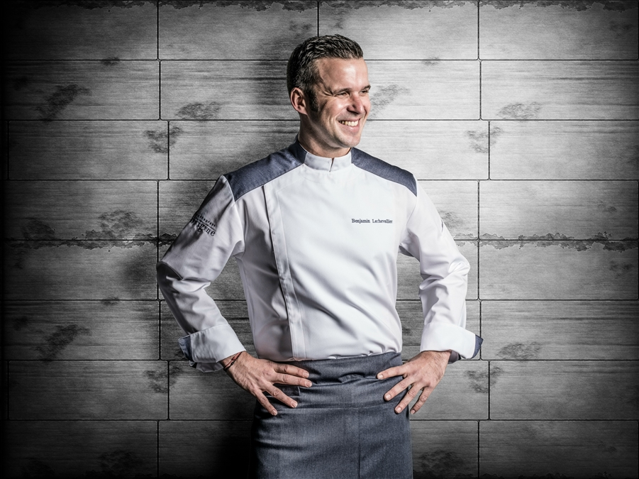 Yale contemporary Chef jacket