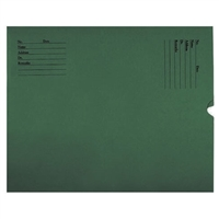 Negative Preservers, 14-1/4 H x 17-1/2 W, Printed, Green, Open End, 500/Box (XJ7030)