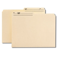 Smead Reversible File Folder, 1/2-Cut Printed Tab, Letter, Manila 10/Pk (10138)